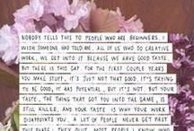 Quotes & ramblings