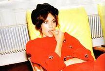 Style Icon: Alexa Chung / Vintage