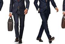 1 navy suit