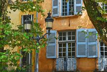 Provence Villages and Markets / Provencal landscape and culture