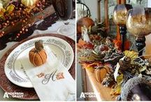 Fall / All things fall - decorations, recipes, ideas.
