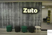Z U T O / Ikon Furniture provided furniture for Zuto Car Finance Manchester Office. Desks, chairs, Kitchen Furniture, Soft Furnishings