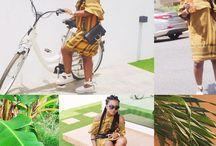 A Quick Cycle /  Cecile Copenhagen, Chloe clutch bag, Gucci Frame