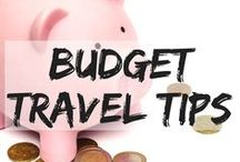 Budget Travel Tips / Helpful tips and hacks to save some money on your travels. travel on a budget | travel for less | budget travel guide | cheap destinations | budget travel | budget travel advice