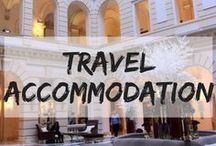 Travel Accommodation / Where to stay around the world. hotels | hostels | airbnb | bangalow | hut | treehouse