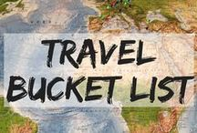 Travel Bucket List / Places to visit before you die! must see places | things to do before you die