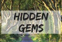 Hidden Gems Around the World / The off beaten path destinations around the world.  hidden gems | offbeat travel | off beaten paths destinations | secret locations | undiscovered places