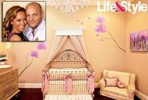 Celebrity Nurseries / They may have the big bucks to design the ultimate nursery, but you can still get some great ideas for your own baby's nursery from these Celebrity Nurseries.