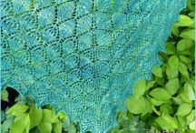 Châles au tricot / Châles, étoles, ponchos, écharpes au tricot / by Tritine