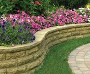 DIY Retaining Walls / Anchor Wall Systems offers a variety of wall products for do-it-yourselfers who want to build something beautiful. Visit anchorwall.com to find the Anchor retailer nearest you.