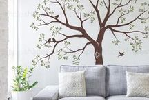 Family Tree Decals / Our most popular wall decals! Family Tree wall art from SimpleShapes.