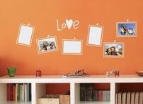 Fun and Function for the Workspace / Wall Decals and Decor to keep you organized in style.