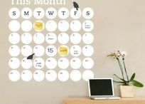 Dorm Room Decor / Wall Decals and Peel & Stick Wallpaper for Back to School