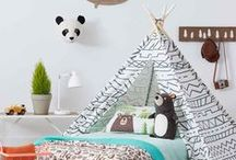 Kid's Room Decor Ideas / Decorating ideas to make a child's room a fun and cozy place.