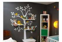 Simple Shapes Customer Photos / Real Life Rooms using our Wallpaper and Wall Decals. SimpleShapes.com