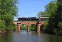Mosty, wiadukty, tory