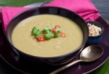 Soup Recipes / From Honey Roast Pumpkin to an Easy Chicken Soup find all your favourite soup recipes +1 extra vegetable.