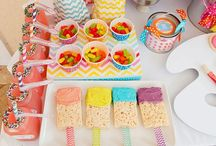 Kids' parties- Art party / Hi and welcome to my board of Ideas for an art themed Birthday party.  This looks like so much fun!  Can't wait to have one for one of my grandkids.  Feel free to comment and enjoy!