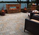 Outdoor Fire Features / Nothing adds ambience to an outdoor space quite like fire. Anchor retaining wall products can be used to make fire pits, fire tables and fireside benches to enhance any home's landscape. Visit anchorwall.com to find the Anchor retailer nearest you.