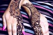 Oblibene malovani - Mehndi - Henna