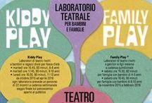 Kiddy Play - Family Play al #TSV_Goldoni / Laboratori teatrali per bambini e famiglie al Teatro Goldoni di Venezia #TSVeneto
