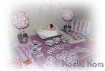 Mis Eventos / Decoración- ambientación- souvenirs- golosinas personalizadas... Mesas Dulces Temáticas.  Facebook: kochikom