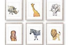Wall Prints : Kids & Nursery / Nursery wall prints and decals.