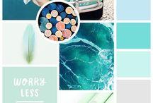 Paleta de cores / Paleta de cores
