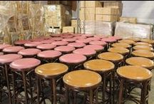 Restaurant Chairs & Stools Ready To Ship / M. Deitz and Sons, Inc. also known as RestaurantChairs.com is a family owned and operated contract wholesale hospitality furniture importer, manufacturer and distributor. The company has been supplying the foodservice, hospitality, restaurant, healthcare and institutional markets with custom-made wholesale chairs, stools and table bases since 1921. Here are some samples of our custom-designed restaurant and hospitality furniture, ready to ship to establishments across the county.