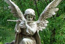 Angel and.....skulpture