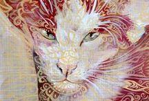Cats in art.....