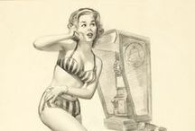 Pin up - Harry Ekman / in up girls pictures by Harry Ekman.