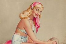 Pin up - Pearl Frush / Pin up girls pictures by Pearl Frush.