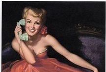 Pin up - Earl Moran / Pin up girls pictures by Earl Moran.