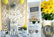 Baby Shower Decorations / Decorations for baby showers - Check out these unique and cute baby shower decorating ideas. Great decor will set the atmosphere for your party.  / by My Baby Shower Favors