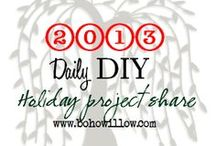 2013 Christmas DIY challenge / Christmas projects that you, too, can do from my favorite bloggers!