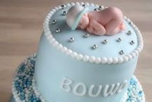 Baby Shower Cakes / Baby shower cakes are a necessity for any baby shower party. Check out these cute baby shower cake ideas.