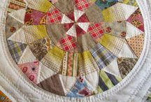 """Patchwork / """"My coat of many colors my Momma made for me - made only from rags. But I wore it so proudly. Althoug we had no money - I was as rich as I could be - in my coat in many colors my Momma made for me"""".  Dolly Partons wonderful words"""