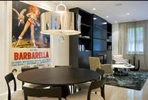 Posters in interior design / Movie and vintage posters in interior design