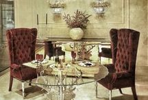 Luxury Interior Design / Luxury Interior Design Idea's, Designer Furniture, Living Rooms, Bedrooms, Bathrooms, Lighting, Chandeliers, Table Lamps, Sconces, Wall Mirrors, Decorative Accents & Decor- Shop at Modeqo.com