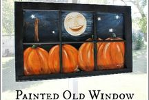 ❤ Windows, Doors, Shutters & boards ❤ / Large painted items and ironing boards / by kriskringle Klassics