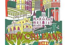 City Kitchen Towels / The City Kitchen Towel collection features collages of favorite cities from around the globe. Artist Julie Boehmer's whimsical illustration style blends the best icons, incredible architecture and famous tourist destinations from each city. The collage towels create beautiful representations of these beloved locales perfect for remembering your travels and adding that special charm to any home.