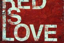 Red - rouge - rød