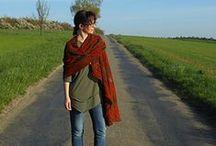 Shawls / gestrickte Tücher  http://www.ravelry.com/designers/wollwerk---simone-eich