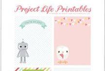 Project Life -  Etiquetas / by María Esther R. Galán