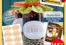 Homemade With Avery® Products / Clever gift ideas with Avery® Products