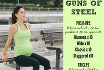 FitBump At-Home Workouts / At-home workouts for moms-to-be and new moms. Find prenatal fitness modifications and full workouts here.