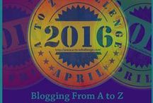 #AtoZchallenge Posts / These are posts written by me and some blogging friends to meet the requirements of various blogging A-Z Challenges on an assortment of subjects. If you are part of the 2016 April  #AtoZchallenge, please follow this board and I may invite you to pin your blogs for this challenge.
