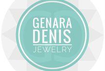>> Fashion || Genara Denis Jewelry / Fun-Classy Jewelry for a Fashion Statement and/or Spiritual Purpose // 14kt Gold Filled // Semi Precious Stones
