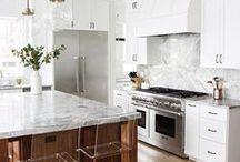 Kitchen Inspiration / Kitchen Inspiration | Kitchen Looks + Kitchen Decor + Kitchen Design + Kitchen Trends + White Kitchen